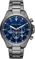 Michael Kors Men's Chronograph Gage Two-Tone Stainless Steel Bracelet Watch 45mm MK8443