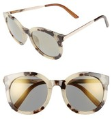 A. J. Morgan Women's A.j. Morgan Cat D 53Mm Sunglasses - Grey Tortoise