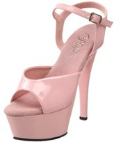 Pleaser USA Women's KISS-209/BP/M Platform Sandal