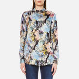 BOSS ORANGE Women's Eiman Shirt Multi
