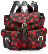 RED Valentino Printed Backpack with Leather