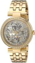 Kenneth Cole New York Women's ' Automatic Stainless Steel Dress Watch, Color:Gold-Toned (Model: 10030807)
