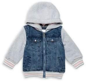 Urban Republic Little Girl's Hooded Denim Jacket