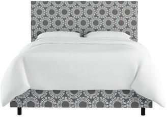 Wrought Studio Edford Slipcover Medallion Upholstered Standard Bed Size: Twin
