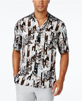 Tasso Elba Men's Print Short-Sleeve Shirt, Classic Fit