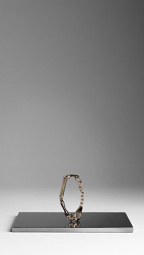 Burberry Bar Detail Bracelet