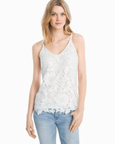 White House Black Market Lace Cami