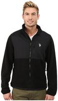 U.S. Polo Assn. Polar Fleece Mock Neck Jacket