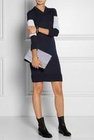 Maison Martin Margiela Paneled wool sweater dress