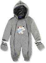 Sweet & Soft Baby Boys' 1-Piece Hooded Pram Suit
