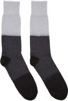 Paul Smith Grey Mohair Socks
