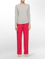 Calvin Klein Flannel Pajama Gift Set