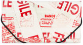 MM6 MAISON MARGIELA printed faux leather wallet - women - Polyurethane/Polyamide/Polyester/Cotton - One Size