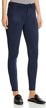 Level 99 Janice Faux-Suede Skinny Jeans