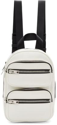Alexander Wang White Medium Attica Backpack