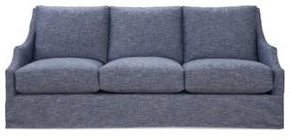 "Imagine Home Reagan 83"" Wide Cotton Recessed Arm Sofa"