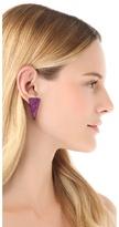 Magid Sarah Cone Stud Earrings