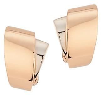 Vhernier Tourbillon S 2-Piece 18K Rosegold & 18K White Gold Earclips