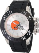 Game Time Men's NFL-BEA-CLE Beast Round Analog Watch