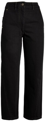 Lemaire Twisted Cropped Jeans