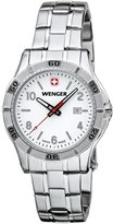 Wenger 0921.103 Women's Platoon Dial Stainless Steel Bracelet Watch