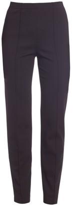 St. John Cropped Pintuck Pants