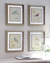 Horchow Four Songbird Prints