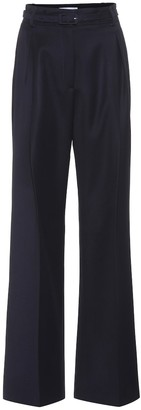 Gabriela Hearst Dora high-waisted wool trousers