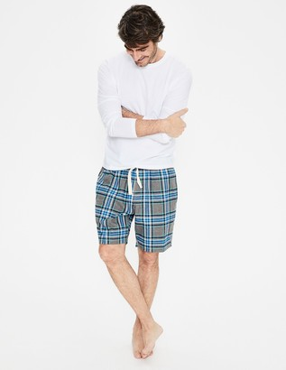 Boden Flannel Pajama Shorts