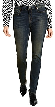 Marina Rinaldi Idra Faded Jeans in Ski Blue