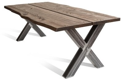 Foundry Select Bourgoin Drop Leaf Acacia Solid Wood Dining Table Shopstyle