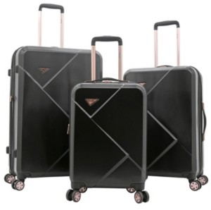 Kensie 3-Pc. Grace Expandable Hardside Luggage Set