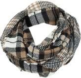 Woolrich Double Plaid Eternity Scarf - Women's