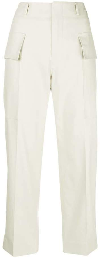 Sofie D'hoore straight leg cropped trousers