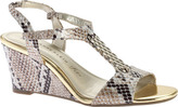 Anne Klein Women's Emanie Wedge Sandal