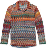 Missoni - Crochet-knit Polo Shirt