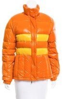 Moncler Two-Tone Puffer Jacket