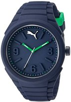 Puma Unisex PU103592006 Gummy Analog Display Quartz Blue Watch