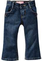 Old Navy Button-Pocket Boot-Cut Jeans for Toddler