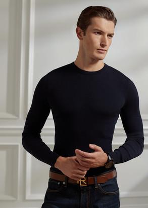 Ralph Lauren RLX Slim Ribbed Merino Sweater