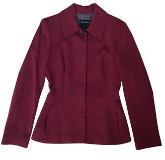 Tara Jarmon Burgundy Wool Jacket for Women