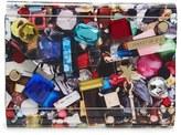 Jimmy Choo 'Candy Jewel' Acrylic Flap Clutch - Black