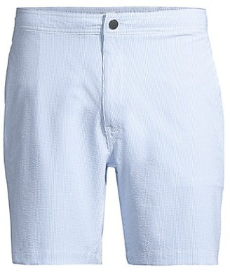 Onia Calder Textured Swim Trunks