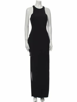 Elizabeth and James Crew Neck Long Dress w/ Tags Black