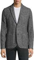 Original Penguin Classic-Fit Patch-Pocket Tweed Blazer, Eiffel Tower