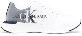 Calvin Klein Logo-Print Low-Top Sneakers