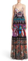 Roberto Cavalli Women's Print Silk Maxi Dress
