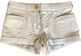 Faith Connexion Leather Shorts for Women
