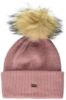 Superdry Women's Heritage Ribbed Beanie Balaclava,One (Size: OS)