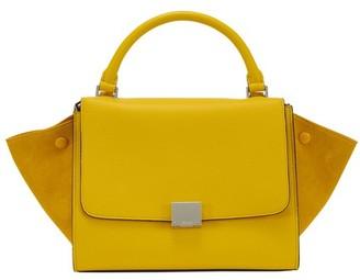 Celine Small Trapeze Handbag In Calfskin
